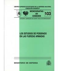 ESTUDIOS DE POSGRADO EN LAS FUERZAS ARMADAS
