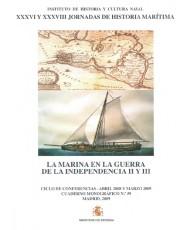 MARINA EN LA GUERRA DE LA INDEPENDENCIA II Y III, LA