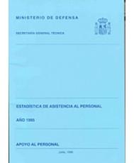 ESTADÍSTICA DE ASISTENCIA AL PERSONAL. APOYO AL PERSONAL 1995