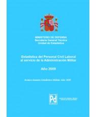 ESTADÍSTICA DEL PERSONAL CIVIL LABORAL AL SERVICIO DE LA ADMINISTRACIÓN MILITAR 2009