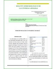 BOLETÍN EPIDEMIOLÓGICO DE LAS FUERZAS ARMADAS VOL. 21 Nº 251 SEPTIEMBRE 2014