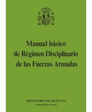 MANUAL BÁSICO DE RÉGIMEN DISCIPLINARIO DE LAS FUERZAS ARMADAS