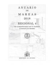 ANUARIO DE MAREAS REGIONAL 4. DE LA DESEMBOCADURA DEL RÍO GUADIANA A LA BAHÍA DE ALGECIRAS. 2018