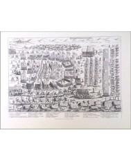 EJERCITO TURCO HACIA VIENA 1683, MARCHA