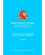 Estadística de accidentes en las Fuerzas Armadas 2019