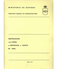 INSTRUCCIÓN SOBRE ZONA DE SERVICIOS DE APOYO. M-1500