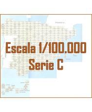 MAPA MILITAR DE ESPAÑA. Serie C