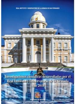 Investigaciones científicas desarrolladas por el Real Instituto y Observatorio de la Armada