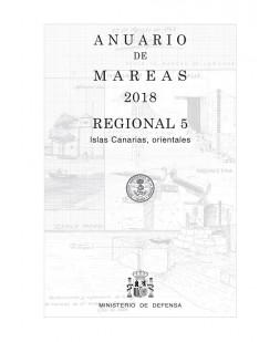 ANUARIO DE MAREAS REGIONAL 5. ISLAS CANARIAS ORIENTALES. 2018