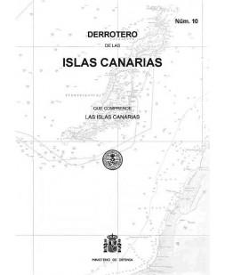 DERROTERO DE LAS ISLAS CANARIAS. Núm. 10. 3º EDICIÓN 2018