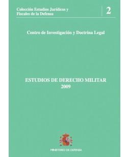 ESTUDIOS DE DERECHO MILITAR 2009