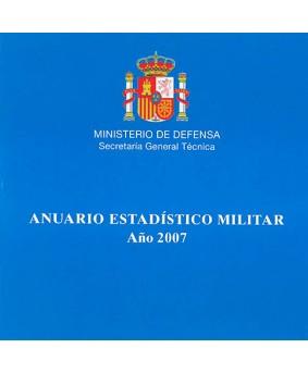 ANUARIO ESTADÍSTICO MILITAR. AÑO 2007