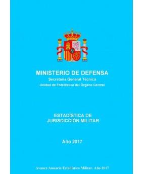 ESTADÍSTICA DE JURISDICCIÓN MILITAR 2017