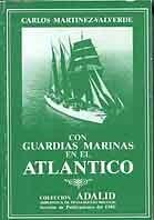 Con guardias marinas en el Atlántico