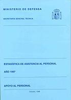 ESTADÍSTICA DE ASISTENCIA AL PERSONAL. APOYO AL PERSONAL 1997