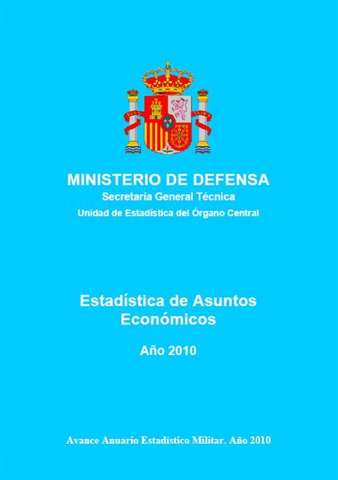 ESTADÍSTICA DE ASUNTOS ECONÓMICOS 2010