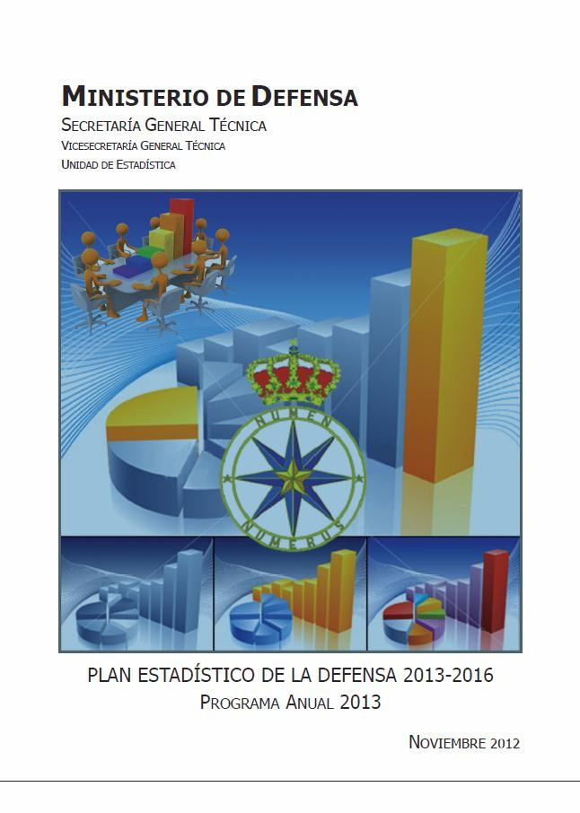 PLAN ESTADÍSTICO DE LA DEFENSA 2013-2016: PROGRAMA ANUAL 2013