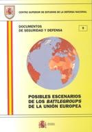 POSIBLES ESCENARIOS DE LOS BATTLEGROUPS DE LA UNIÓN EUROPEA