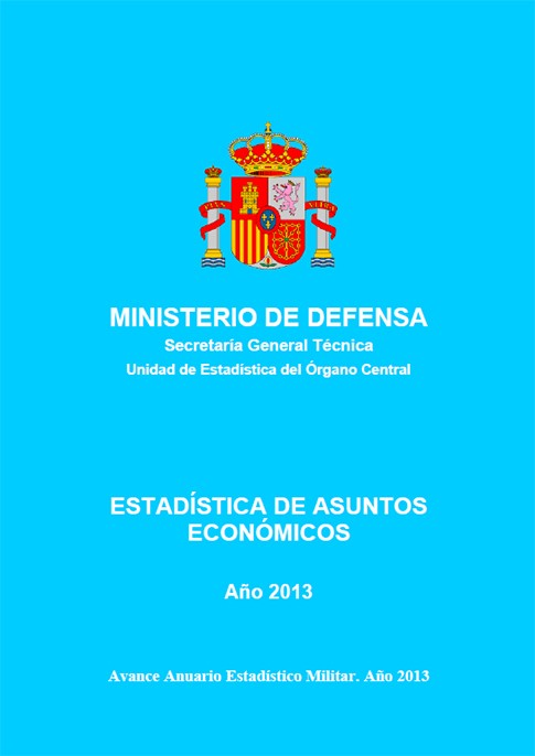 ESTADÍSTICA DE ASUNTOS ECONÓMICOS 2013