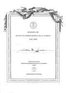 MEMORIA DEL INSTITUTO HIDROGRÁFICO DE LA MARINA. AÑO 2005