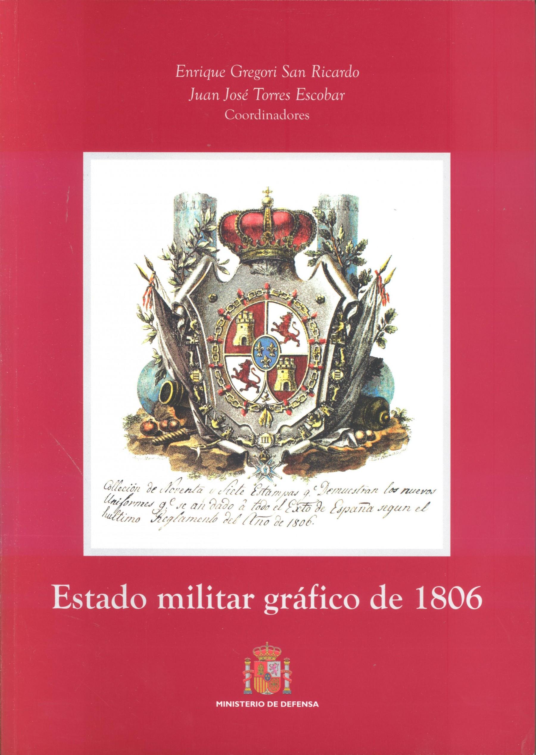 ESTADO MILITAR GRÁFICO DE 1806