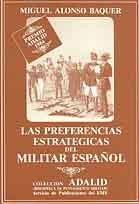 LAS PREFERENCIAS ESTRATÉGICAS DEL MILITAR ESPAÑOL