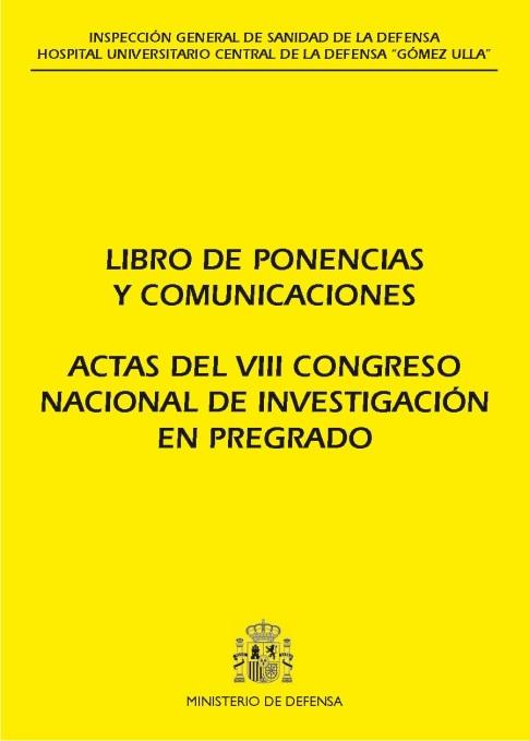 ACTAS DEL VIII CONGRESO NACIONAL DE INVESTIGACIÓN EN PREGRADO