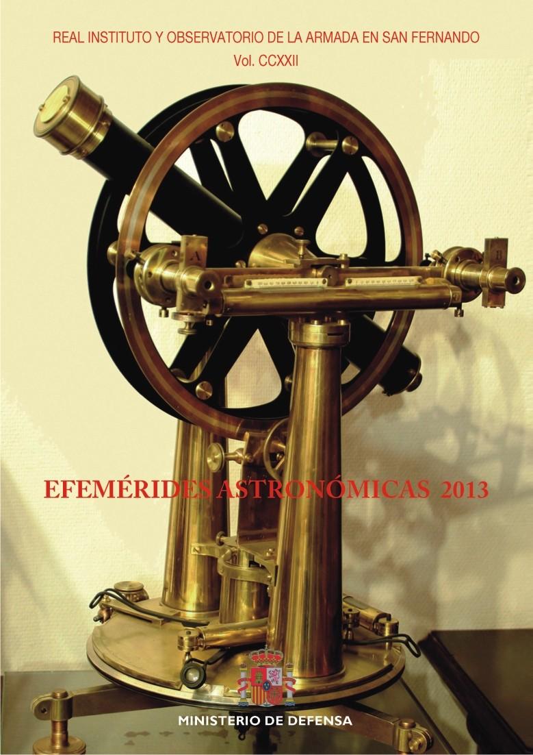 EFEMÉRIDES ASTRONÓMICAS 2013