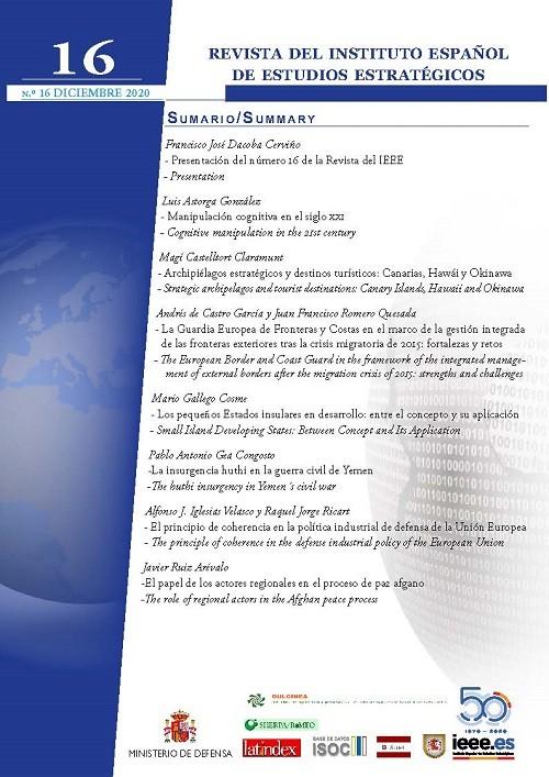 Revista del Instituto Español de Estudios Estratégicos
