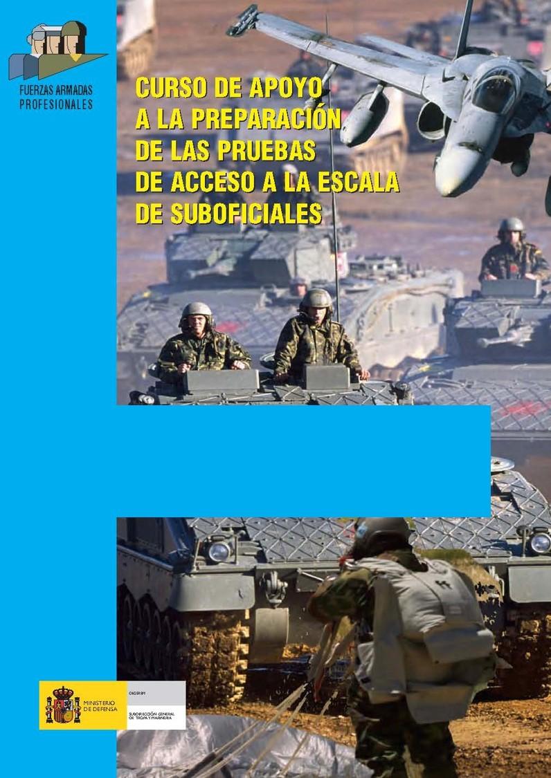 CURSO DE APOYO A LA PREPARACIÓN DE LAS PRUEBAS DE ACCESO A LA ESCALA DE SUBOFICIALES 2010/2011
