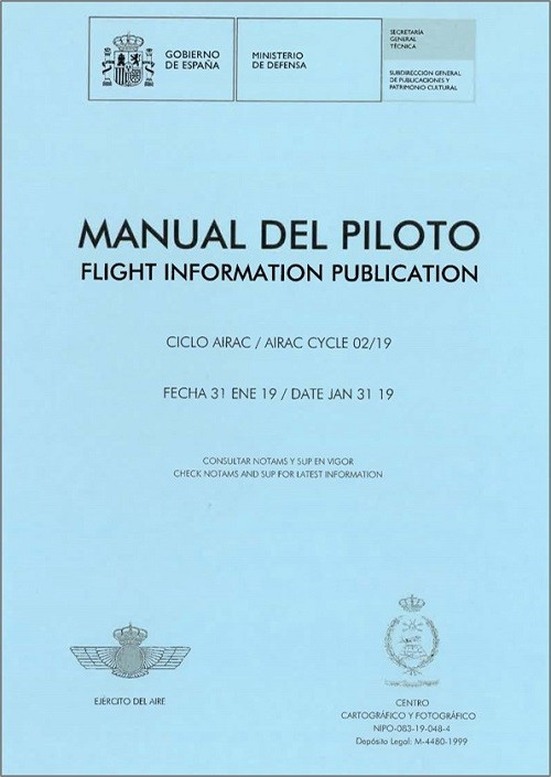 MANUAL DEL PILOTO. FLIGHT INFORMATION PUBLICATION. 2019