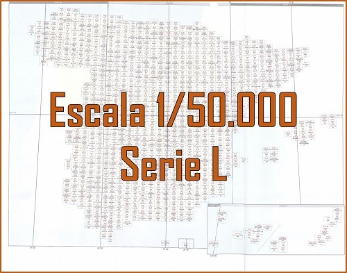 MAPA MILITAR DE ESPAÑA. Serie L