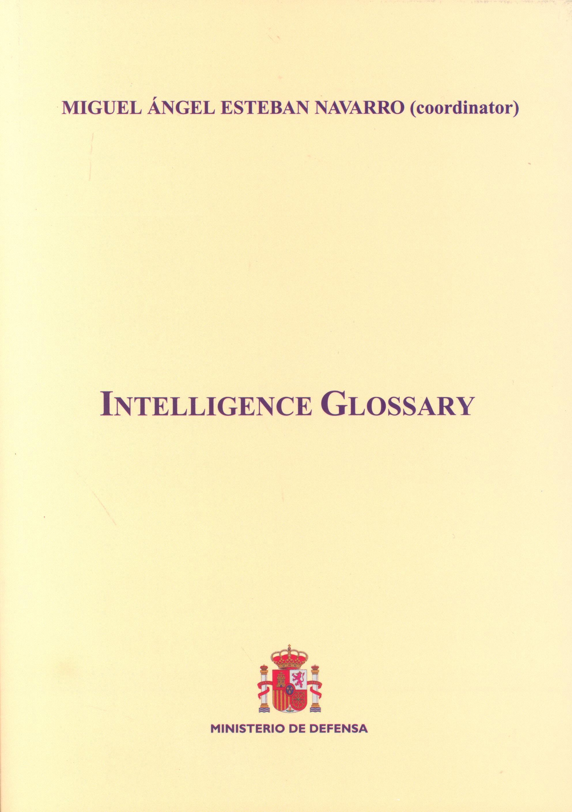 INTELLIGENCE GLOSSARY