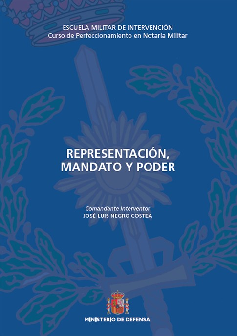 REPRESENTACIÓN, MANDATO Y PODER