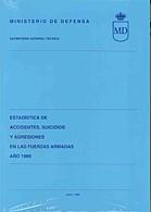 ESTADÍSTICA DE ACCIDENTES, SUICIDIOS Y AGRESIONES EN LAS FUERZAS ARMADAS 1989