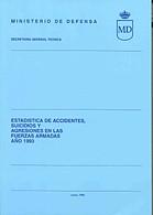 ESTADÍSTICA DE ACCIDENTES, SUICIDIOS Y AGRESIONES EN LAS FUERZAS ARMADAS 1993