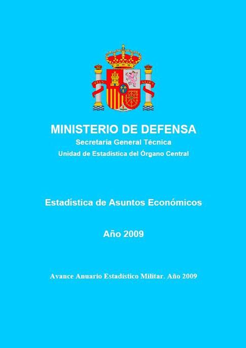 ESTADÍSTICA DE ASUNTOS ECONÓMICOS 2009