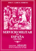 SERVICIO MILITAR EN ESPAÑA 1913-1935