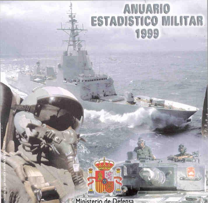 ANUARIO ESTADÍSTICO MILITAR 1999