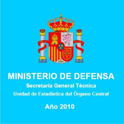 ANUARIO ESTADÍSTICO MILITAR. AÑO 2010