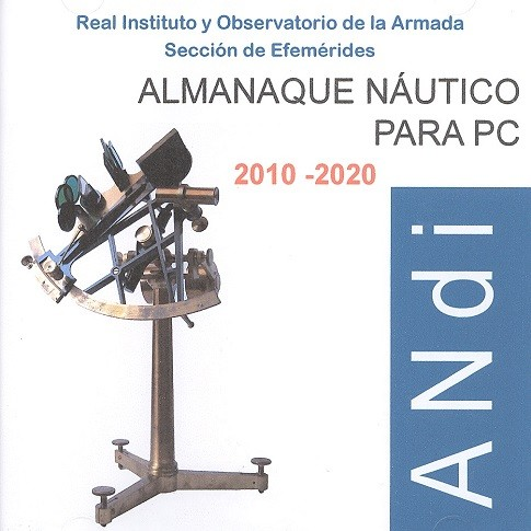 ALMANAQUE NÁUTICO PARA PC 2010-2020 (CD-ROM)