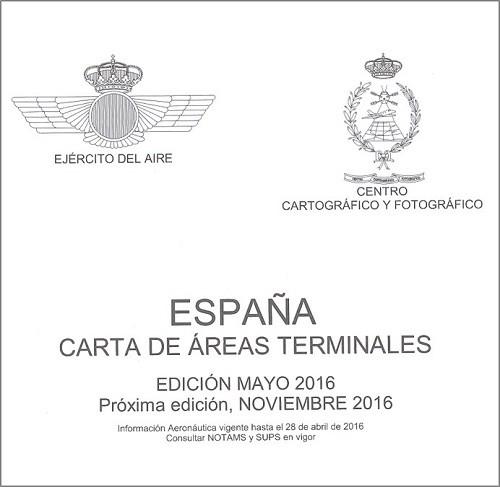 CARTA DE ÁREAS TERMINALES. MAYO 2016