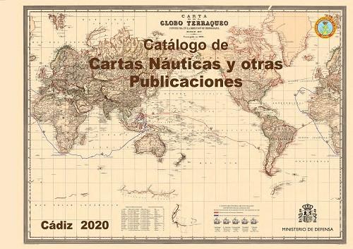 Catálogo de cartas náuticas y otras publicaciones 2020