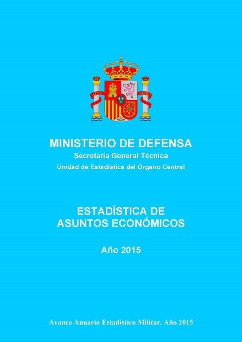 ESTADÍSTICA DE ASUNTOS ECONÓMICOS 2015