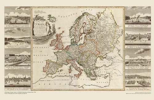 A new map of Europe