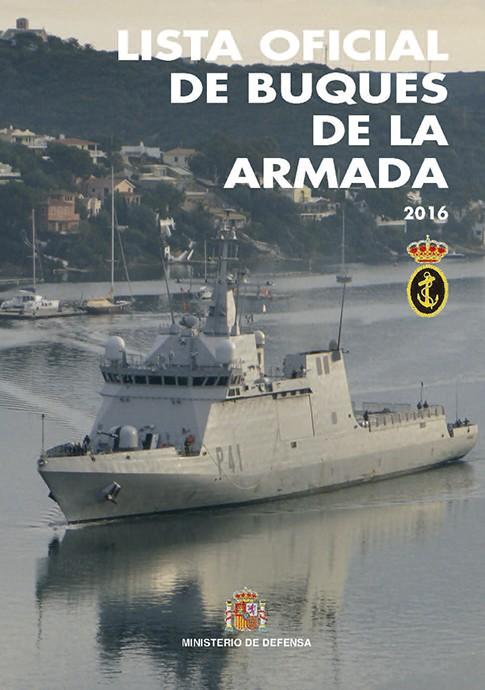 LISTA OFICIAL DE BUQUES DE LA ARMADA 2016
