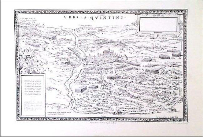 SAN QUINTIN, URBS DE 1557