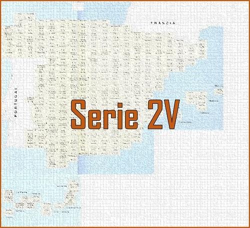 MAPA MILITAR DE ESPAÑA. Serie 2V