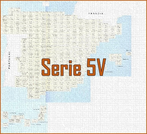 MAPA MILITAR DE ESPAÑA. Serie 5V