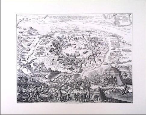 VIENA ASEDIADA POR EL EJERCITO TURCO AÑO 1683
